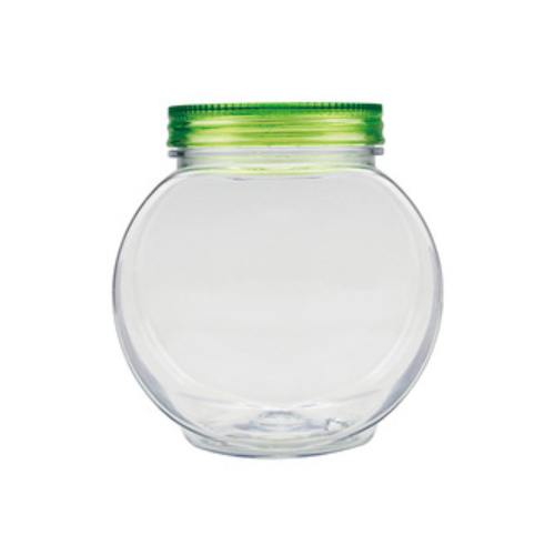 Eco-Friendly high quality customized logo custom wide mouth plastic mason jar A17030