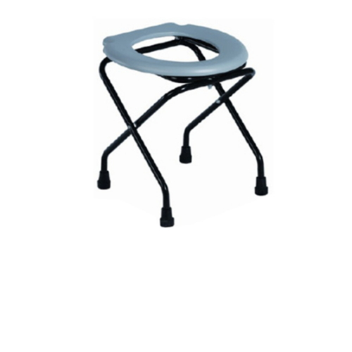 BS - 594 Commode Chair Foldable Wicker Commode Chair