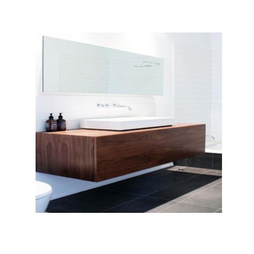 Modern mirror sliding door bathroom cabinet   SJ48