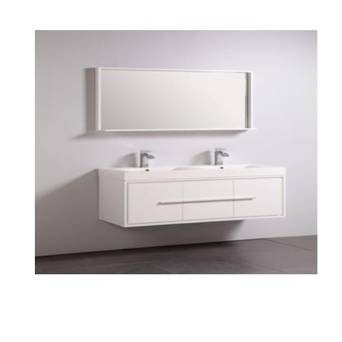double sink bathroom vanity  SJ96