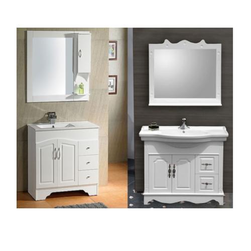Factory cheap single bathroom vanity  SJ99