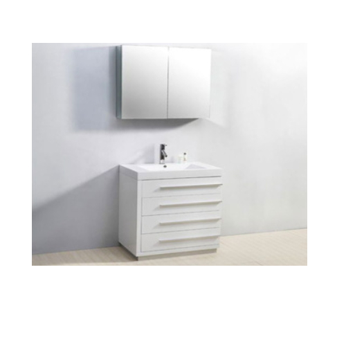 customed cheap antique used bathroom vanity basin cabinets  SJ100