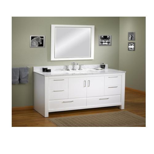 Modern bathroom vanity cabinet made in China  SJ101