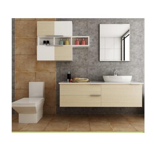 wood grain used bathroom vanity cabinets  SJ102