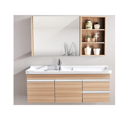 Prefab home cheap single bathroom vanity set  SJ105