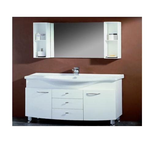 New model PVC bathroom mirror cabinet  SJ110