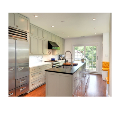 Wholesale and customed PVC individual kitchen cabinet  SJ115