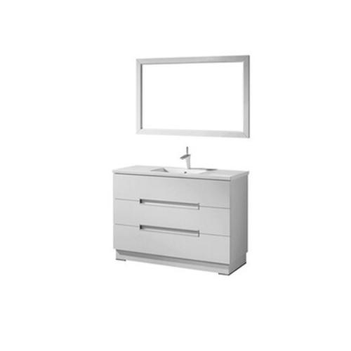 Wholesale modern wooden bathroom vanity mirror cabinet  SJ188