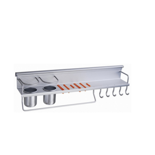 wall mounted aluminum kitchen spice shelf  KD-5158B
