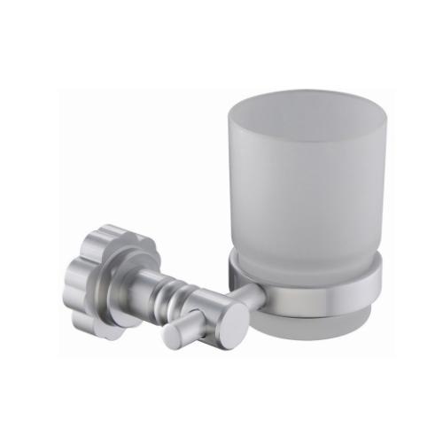 wall mounted bathroom aluminium single glass tumbler holder  KD-6009