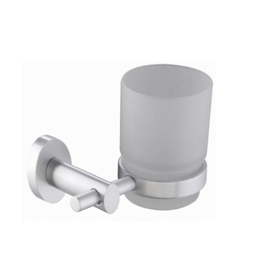 bathroom wall mounted glass toothbrush holder, glass toothbrush cup holder