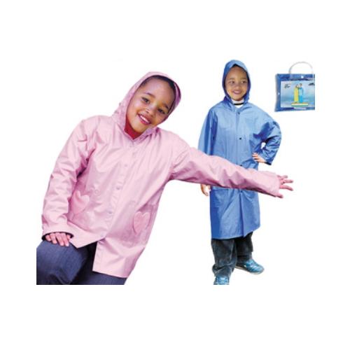 6-14 years old 100%pvc kids rain coat    R-9070