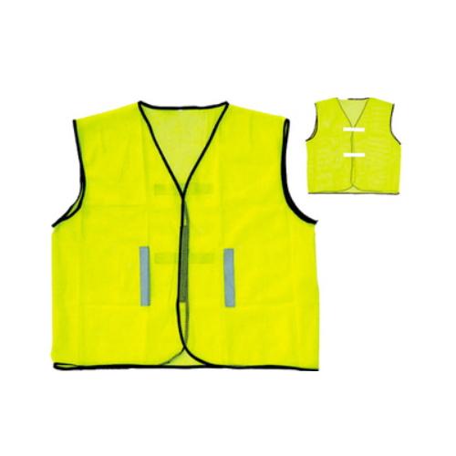 polyester new yelloe cheap safety vest    R-9107