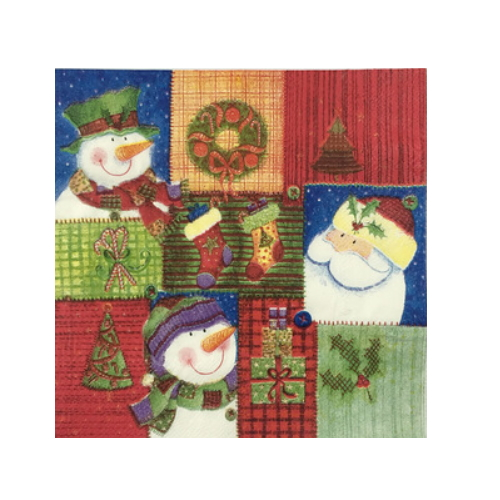 decorating christmas snowman , hot sale paper napkin    AY-85