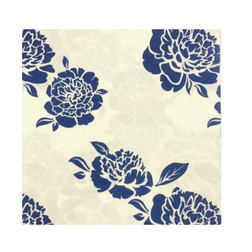 decorative printed flower dinner paper napkin   AY-86