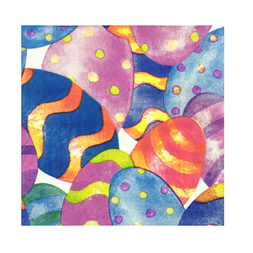 Decoration Easter eggs paper napkin    AY-89