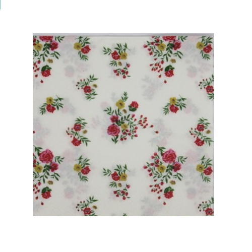 Rose and anyother flower paper napkin   AY-90