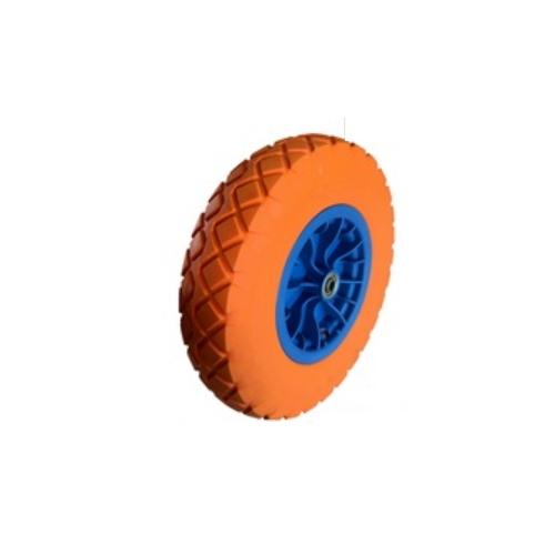 16 inches pu foam solid wheels for barrow wheelbarrow hand trolly truck  4.00-8