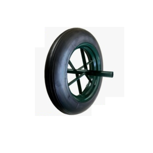 wholesale price prevent puncture Solid rubber wheel for wheelbarrow wheel Construction site 13-1