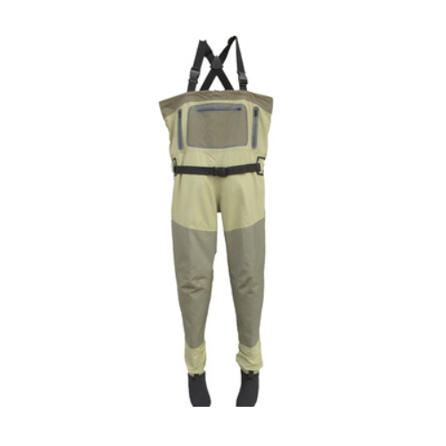 water proof sport wear 3 layers 5 layers breathable fishing chest wader   QH210