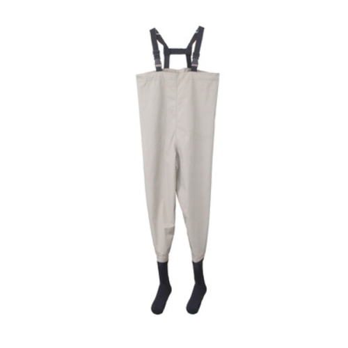 Wader for Fishing use Breathable Nylon and Neoprene socks Breathable Waist Waders   QH211