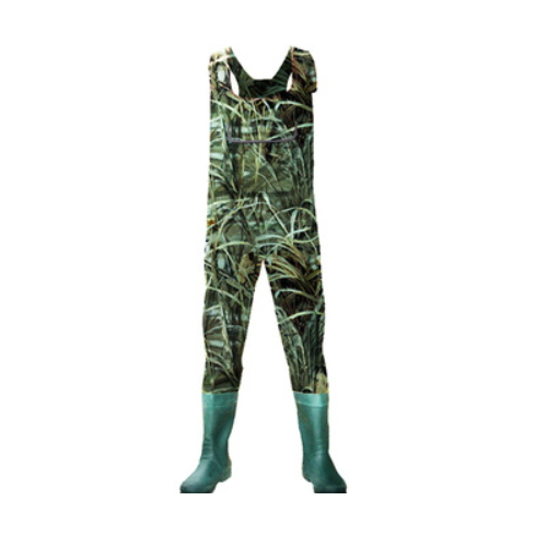 Hotsales Customized Design Men Fishing Hunting Breathable Camo Chest Waders    QH213
