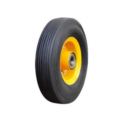 Flat PU foam wheelbarrow wheels size 250-4,item no PU1004