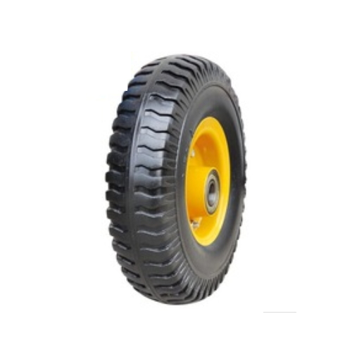 Flat PU foam wheelbarrow wheels size 250-4  PU1003