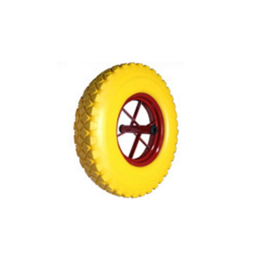 pneumatic inflatable rubber wheel with metal rim  FR1602