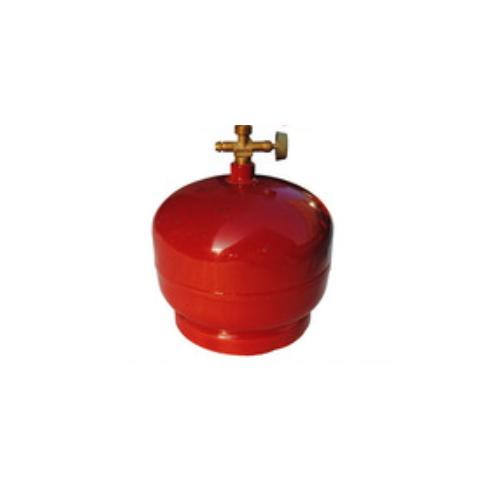 6kg Camping LPG Gas Cylinder With Burner 4.8 L China Manufacturer GC-020