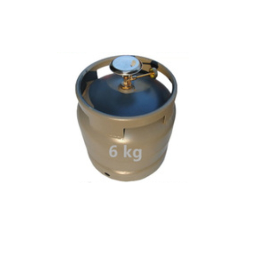 6 KG LPG Gas cylinder with Burner Price 14.4 L Camping Cooking Products  GC-060