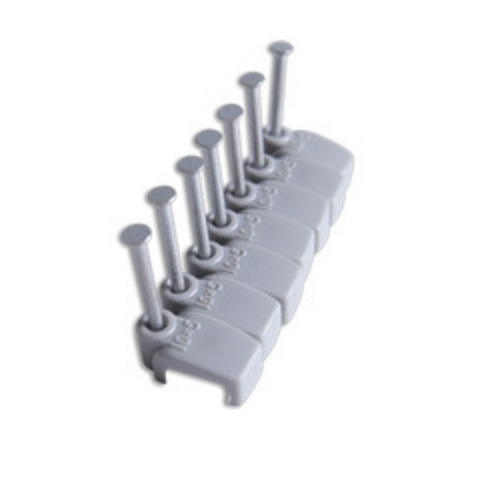 mechanical zinc plated steel nail with countersunk head  K24
