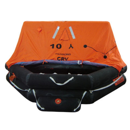 approved 10 persons self inflatable life raft  SY-17