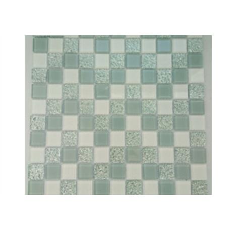 Cheap price dots mosaic swimming pool tile glass mosaics    JQK-172504