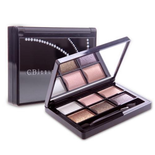 6 colores 3D fashionable magic eye shadow   GZ-16