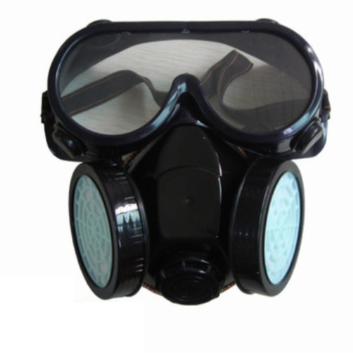 double filter military industry full face antivirus gas mask DF-6008