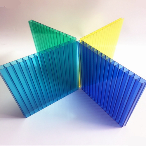 high quality double layer polycarbonate hollow sheet  020