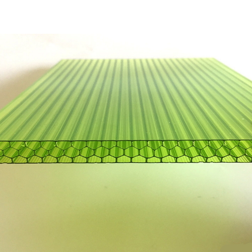 6Mm Multi-Wall Green Honeycomb Pc Hollow Sheet  024