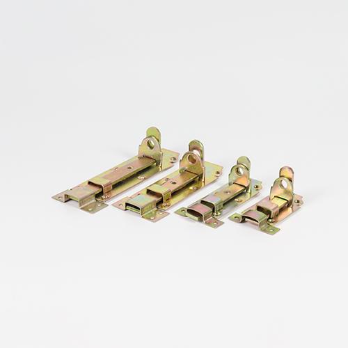 color zinc plated heavy duty flat tower bolt    YS-09