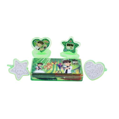 BEN 10 souvenir for students plastic stamp toys   ZY46