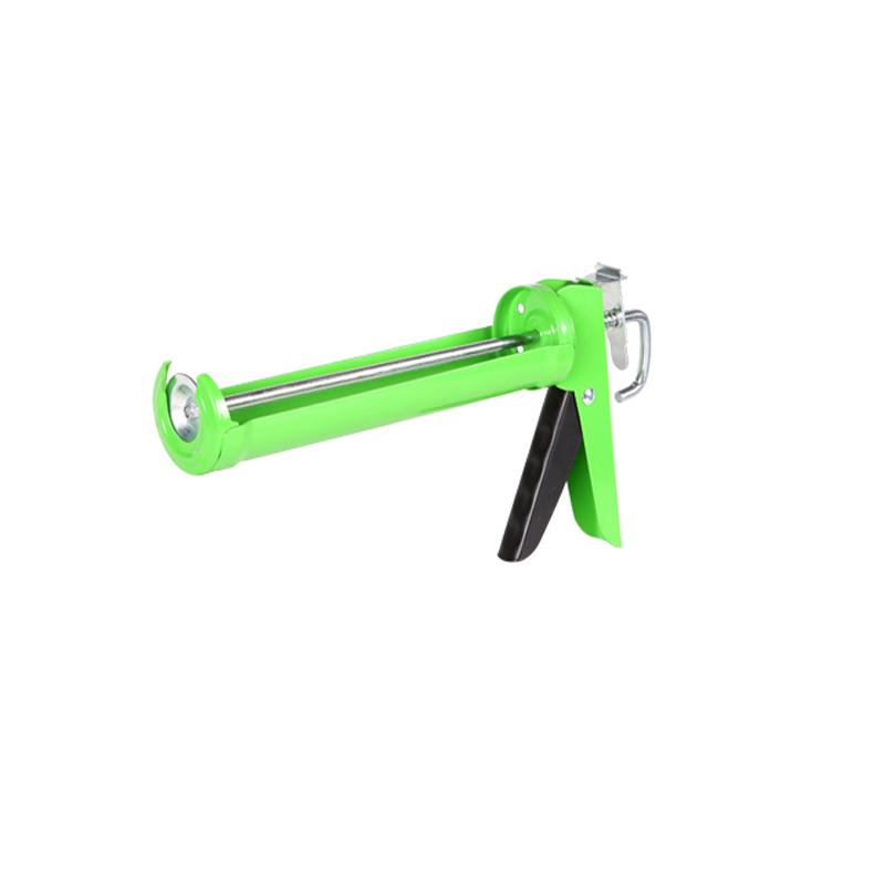 Silicone manual caulking gun