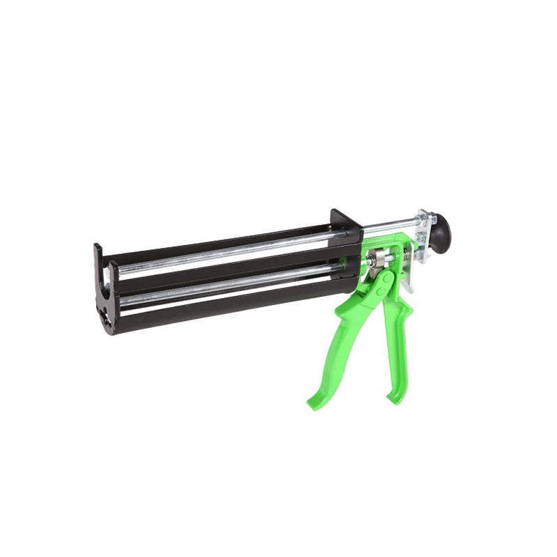 Heavy duty caulking tools double cartridge epoxy gun price