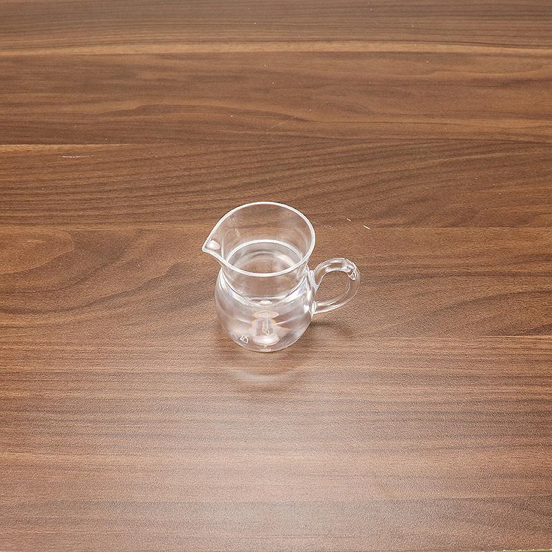 Olive Oil and Vinegar Dispenser Set Clear Glass Cruet  HD-8288