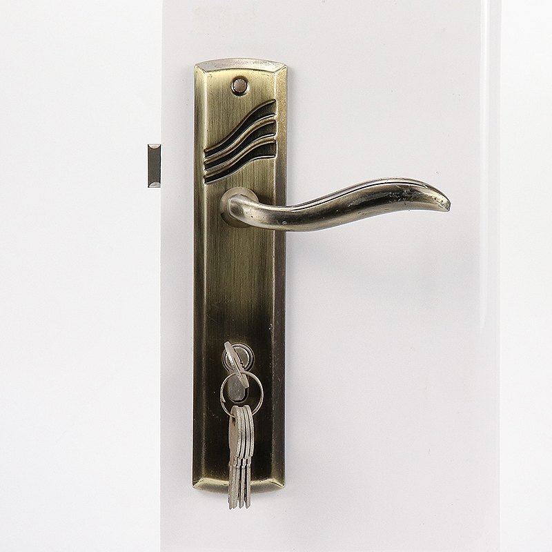 Hotel High Quality Handle Lock With keys A04