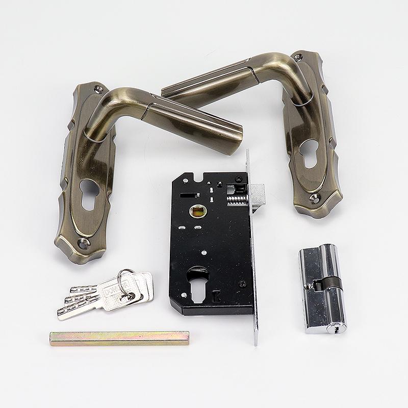 Hotel High Quality Handle Lock With keys A05