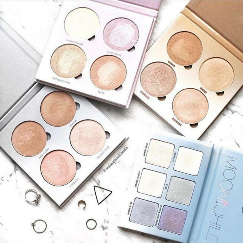 Professional face private waterproof makeup pressed compact powder WN-004