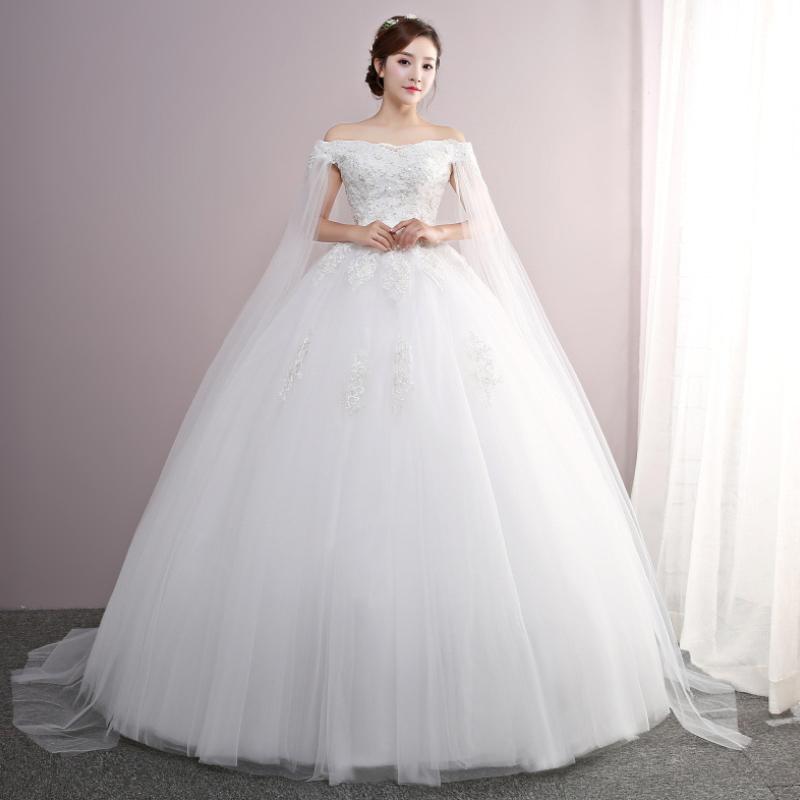 High quality wedding dress bridal gown wedding dress S-004