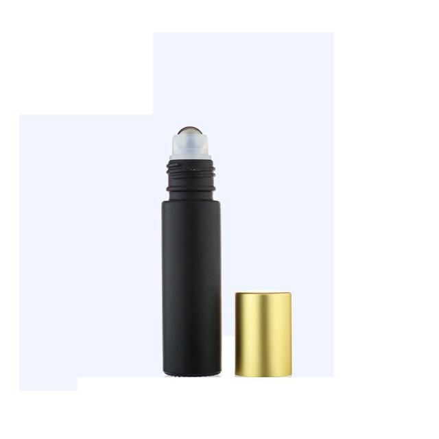 Small Black Tube Ball Head Body Lotion Fresh Deodorant H-02