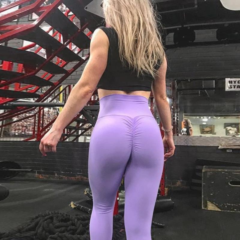 Hot Sexy Scrunch Butt Leggings Yoga Pant, Push Up Gym Training  For Women K-003