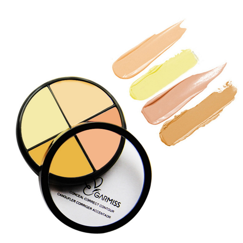 Charming crystal clear best waterproof makeup concealer powder MCCL001